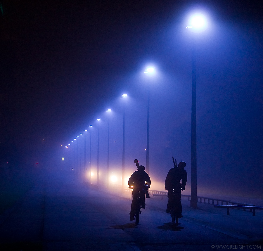 Mist in the Hague by crelight