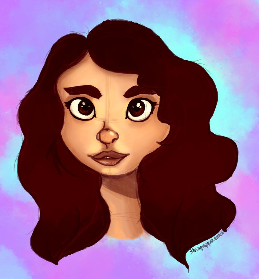 Self Portrait by MrsPepperseed