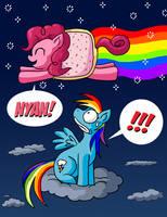 Nonstop Pinkie Pie by xkappax