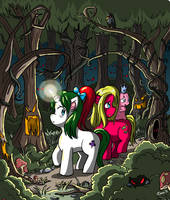 Lost in the Forest by xkappax