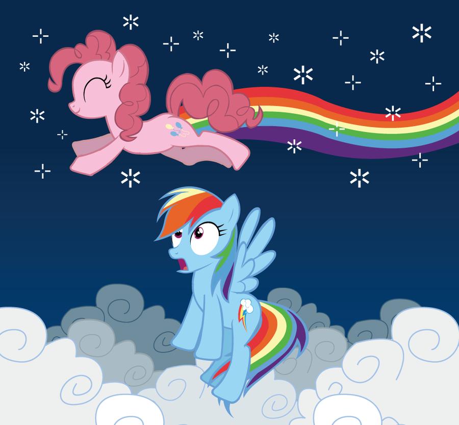 Nonstop Pinkie Pie - Vector by xkappax