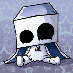 Sitting BoxGhost by xkappax