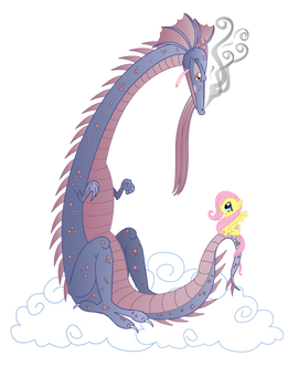 Fluttershy's Dragon