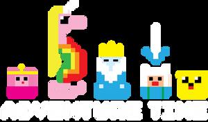 8-Bit Adventure Time by xkappax