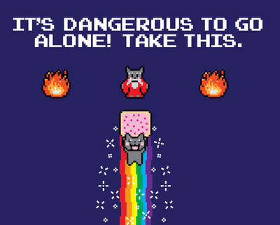It's Nyangerous To Go Alone! Take This!
