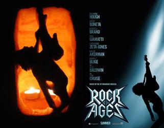 Rock of Ages Pumpkin by xkappax