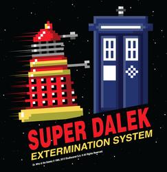 Super Dalek Extermination System by xkappax