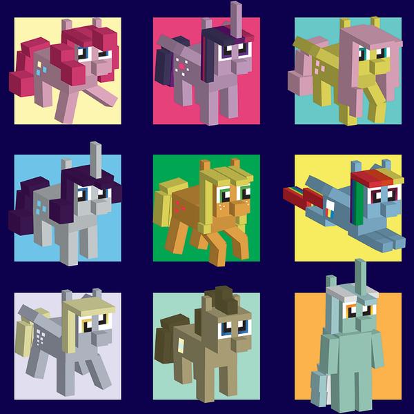 My Little Pony Minecraft Skins - Nail Info