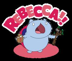 REBECCA! - Catbug Tee Shirt by xkappax