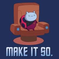 Catbug - Make It So! Tee Design by xkappax