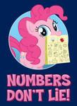 Numbers Don't Lie! Shirt Design