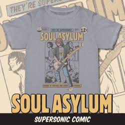 Supersonic Comic - Soul Asylum Preorder Shirt