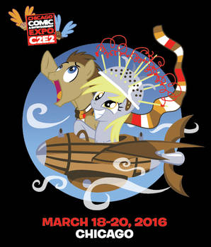 Derpy and the Doctor - C2E2 Exclusive Shirt
