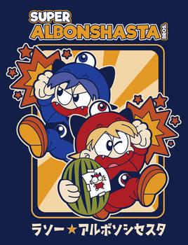 Super Albonshasta Bros. Tee Design