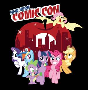 NY Comicon Exclusive Tee - Ponies Take Manehattan