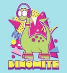 Dinomite Tee Shirt by xkappax