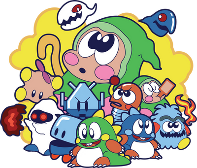 Bubble Bobble by xkappax