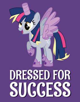 Dressed for Success Tee Shirt Design