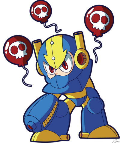 Balloon Man Powered Up 2016 by xkappax