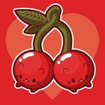Cherries Tee Shirt Design