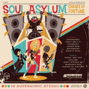 Soul Asylum - Vintage LP Cover Design