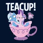 Teacup! Official MLP Tee Shirt by xkappax
