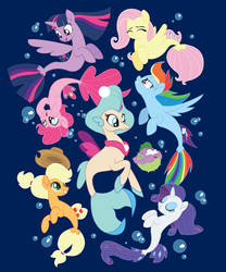 Seaponies Official Tee Shirt