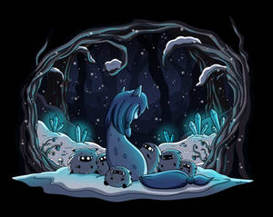 Suicune in the Snow