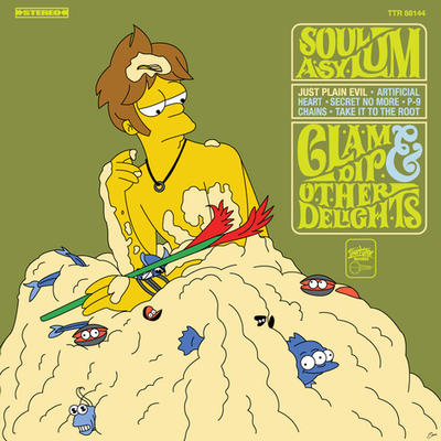 Clam Dip And Other Delights - Simpsons style by xkappax
