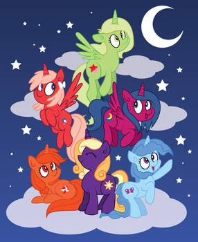 Ponies in the Sky