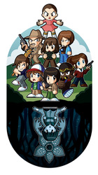 Stranger Things Chibi by xkappax