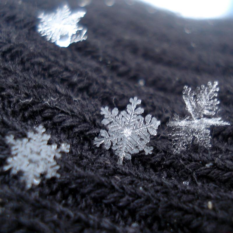 snowflakes by sindarelf