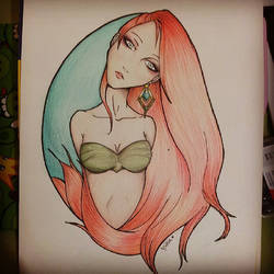 Mermaid by lydiasantanna