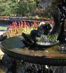 Hello, Fish Statue! by TheSpottedfur
