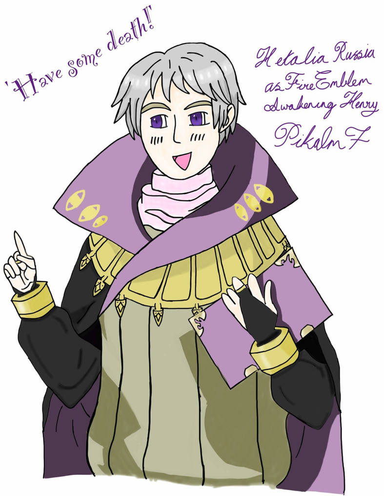 Hetalia Russia as FE-Awakening Henry by Pikalm7 on DeviantArt