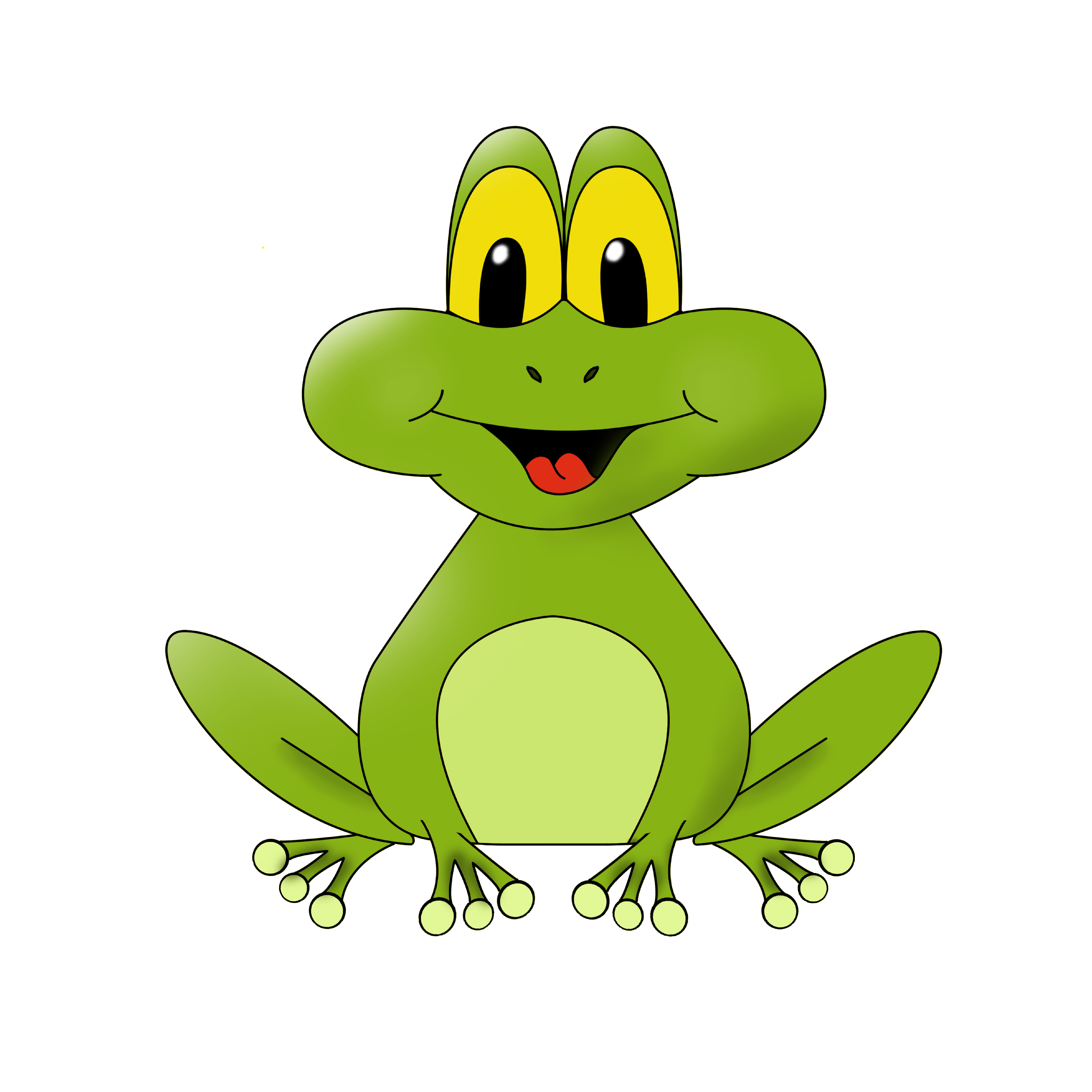 cartoon frog pictures - photo #5