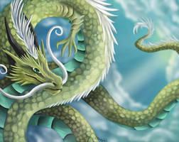 Oriental dragon by DragonCelesh