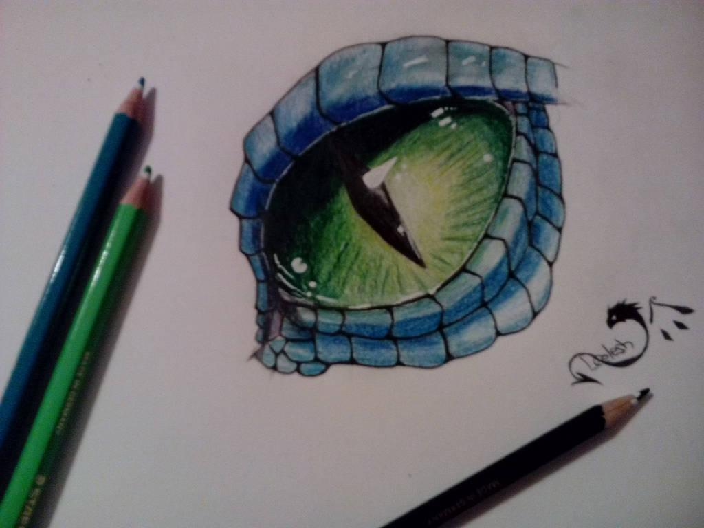 Dragon eye by DragonCelesh
