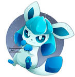 Shiny Glaceon [commission]