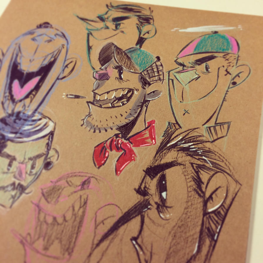Sketch by nooligan