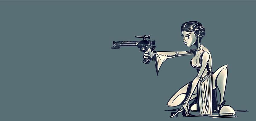 Leia by nooligan