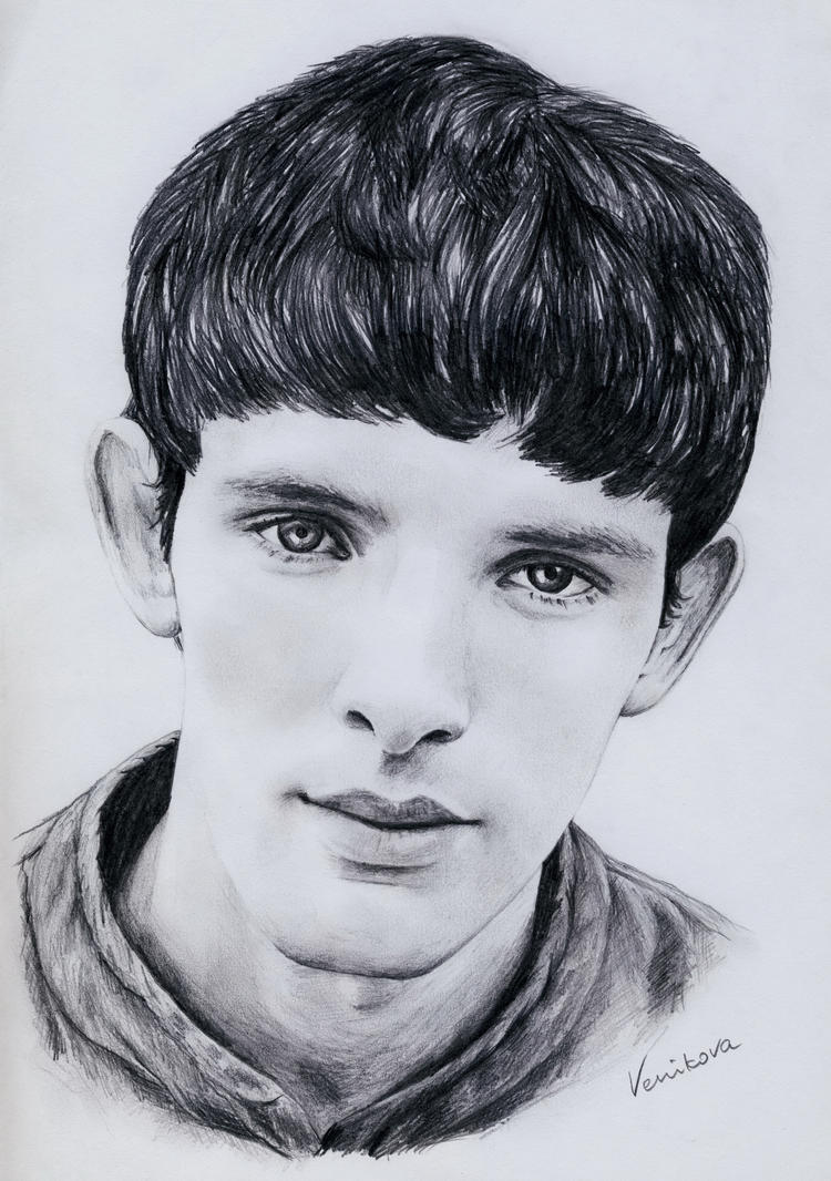 Colin Morgan Merlin By Venikova On Deviantart