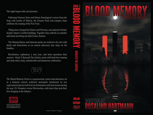 Book 2 Cover - Blood Memory: Beneath the Surface