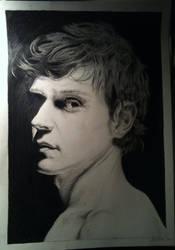 Evan Peters by Ankfeet