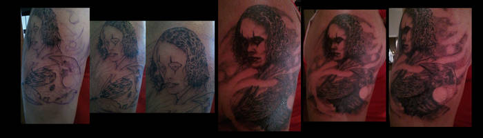 The Crow Tattoo by M1st3RSin1STeR