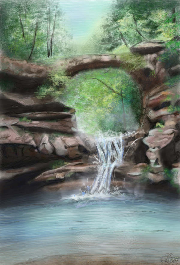 [Image: waterfall_and_the_forest_by_leia1987-d4pw467.jpg]