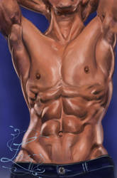 Male Torso study 2 by Leia1987