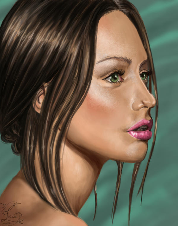 Portrait study by Leia1987