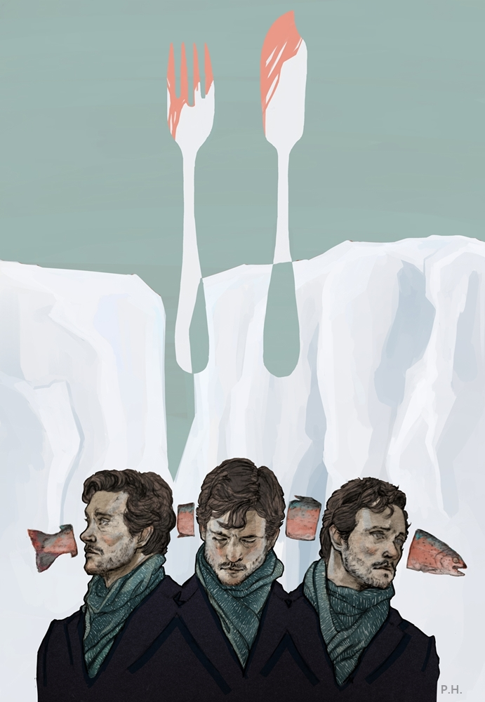 Hannibal : Will Graham : Bait by 666solitaryman