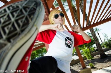 Fightin' Bro by Adventure-Cosplay9